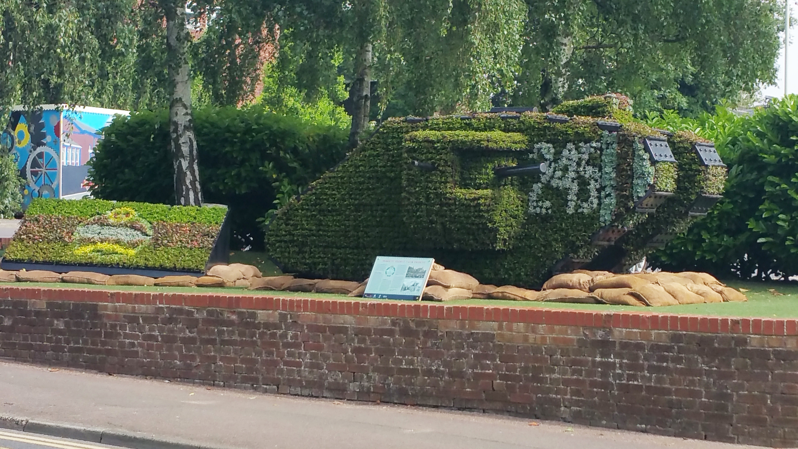 Ashford Borough Council – 3D Battle Tank