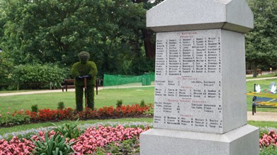 Chelmsford City Council – WW1 Memorial
