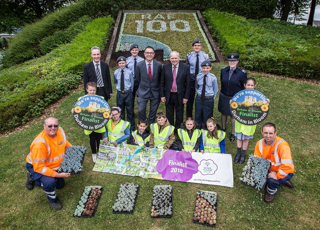 Durham County Council – RAF 100 Carpet Bed