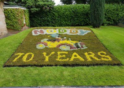 South Ribble 'Noddy' Carpet Bedding