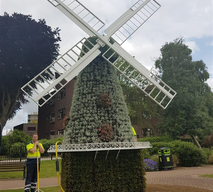 Ashford Borough Council – 3D Windmill